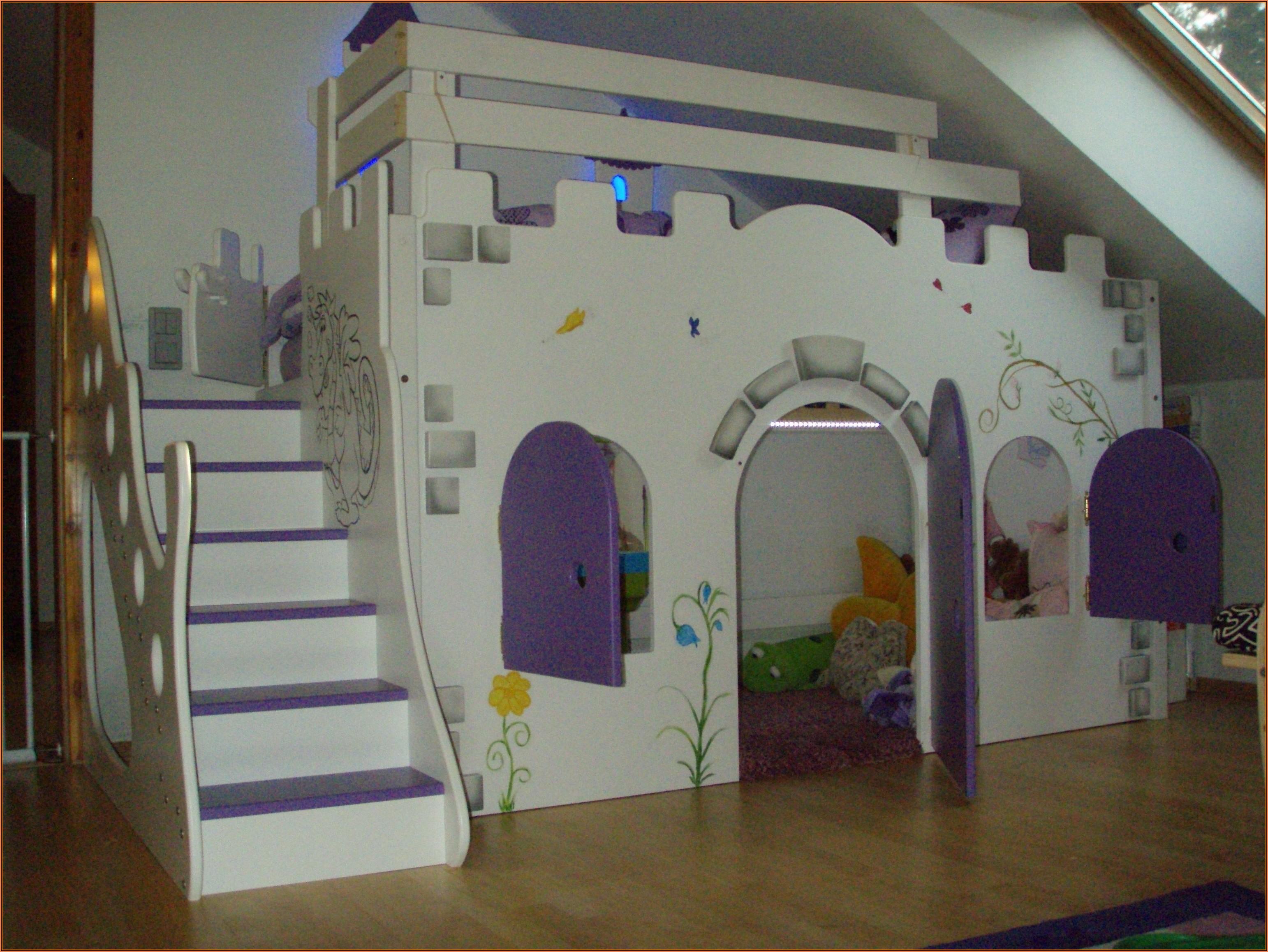 Kinderzimmer Ideen Mädchen Hochbett