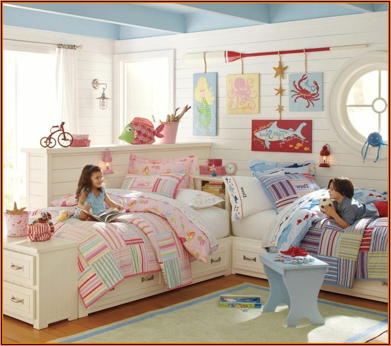 Kinderzimmer Klein 2 Betten