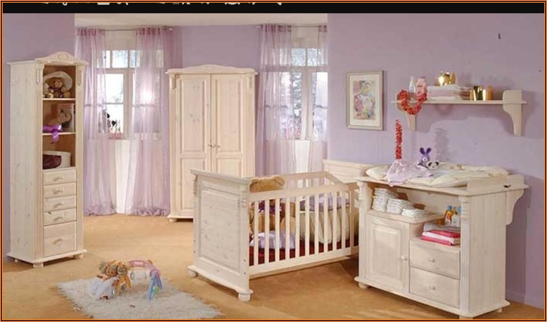 Kinderzimmer Romantik Kiefer Weiß