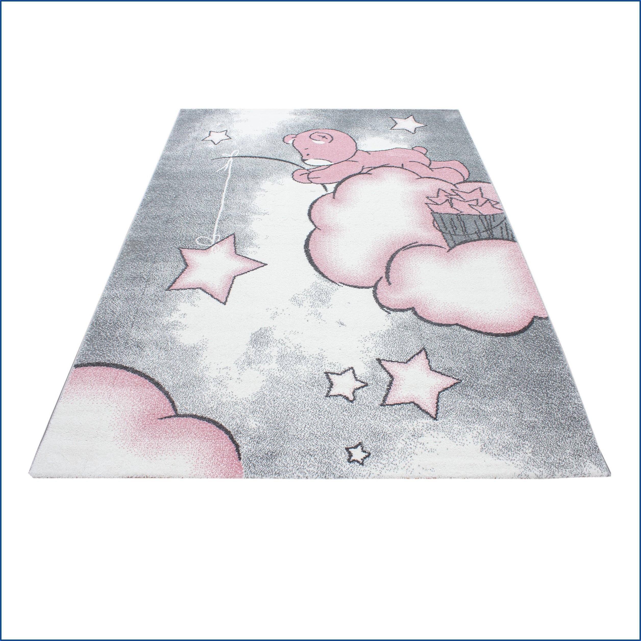 Kinderzimmer Teppich Bär