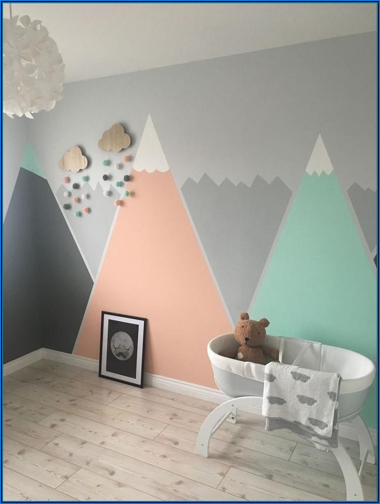 Kinderzimmer Wandfarbe Mint