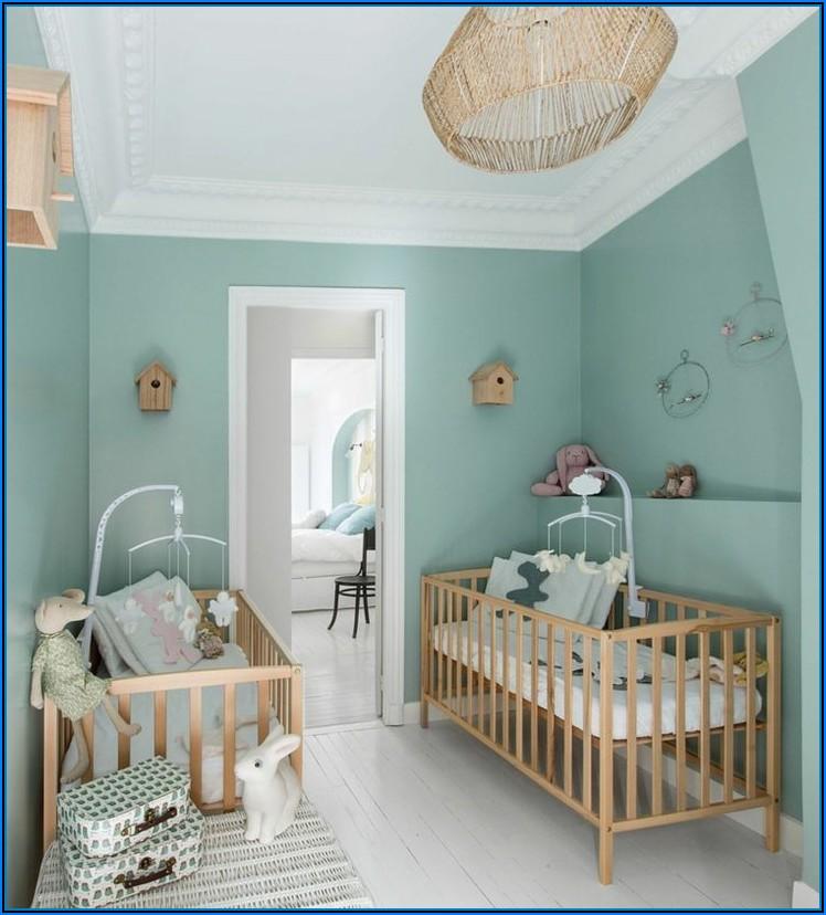 Kinderzimmer Wandfarbe Rosa Grau