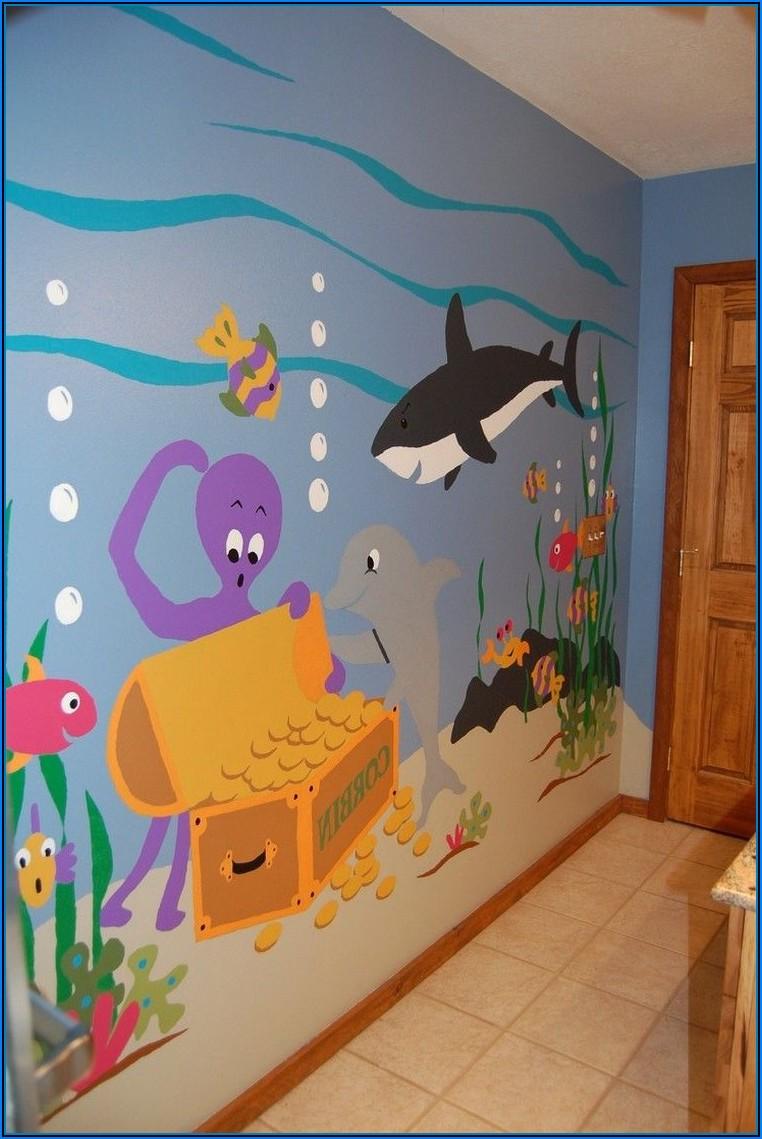 Kinderzimmer Wandgestaltung Pinterest