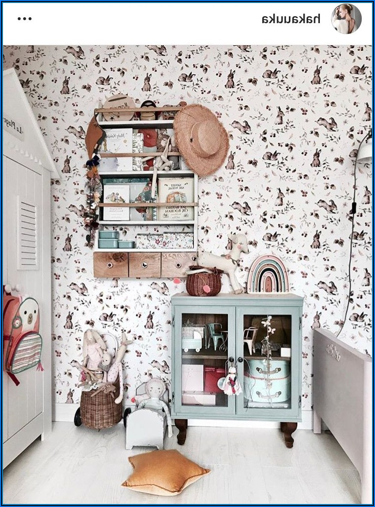 Kinderzimmer Wandgestaltung Tapete