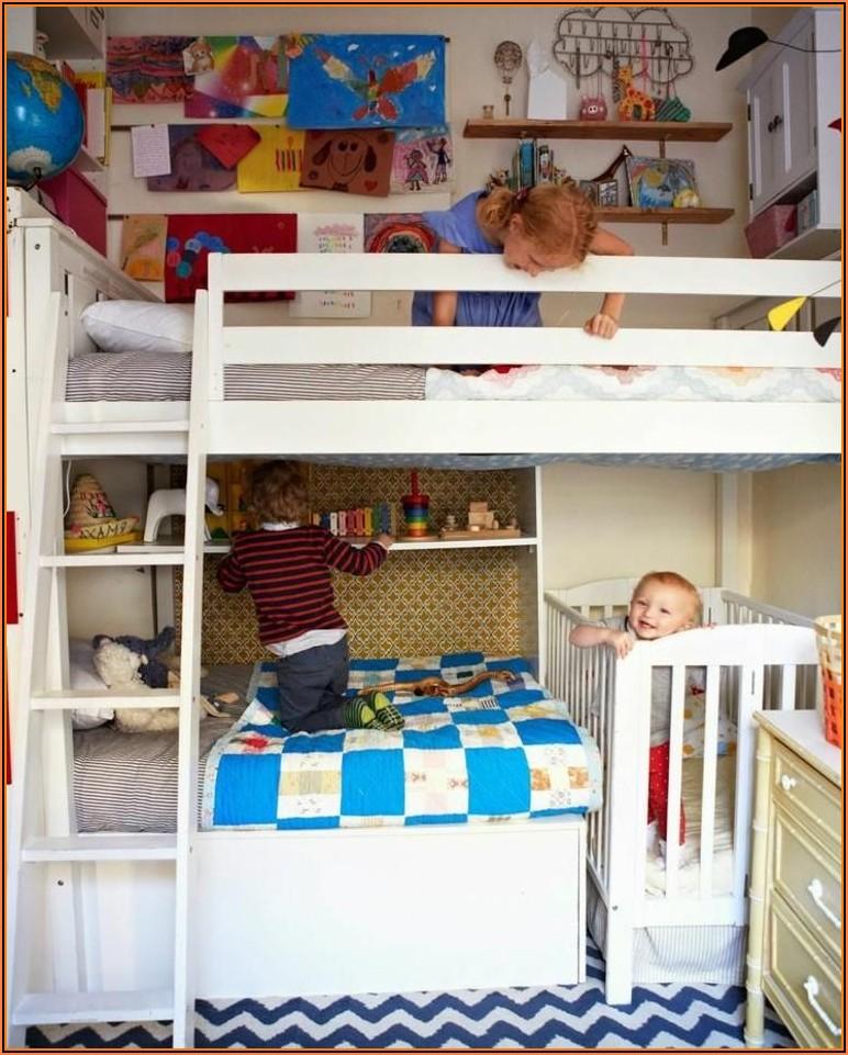 Kleines Kinderzimmer Für 3 Kinder