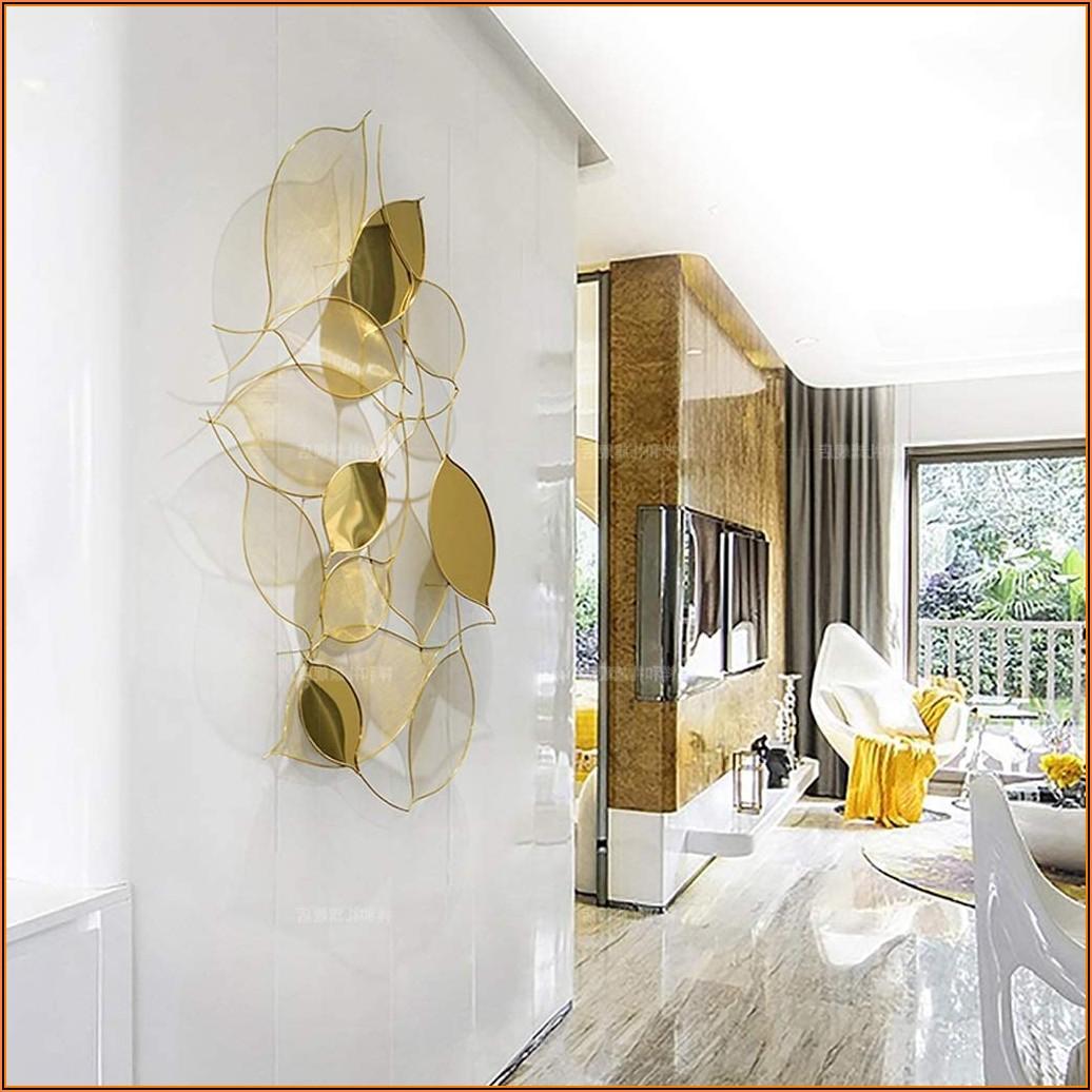 Metall Deko Wand Wohnzimmer