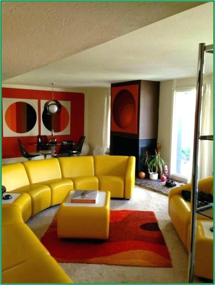 Retro Dekoration Wohnzimmer