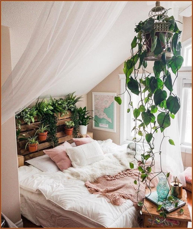 Schlafzimmer Pflanzen Deko