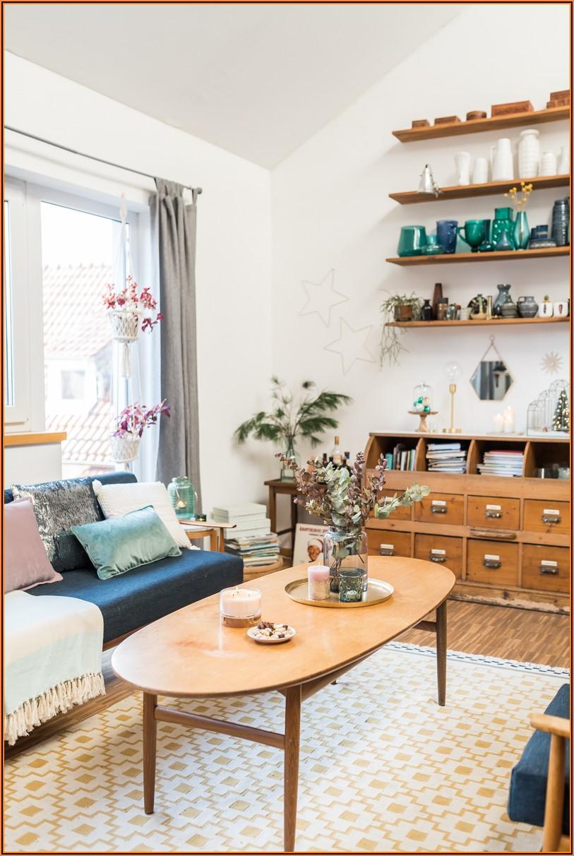 Vintage Wohnzimmer Deko