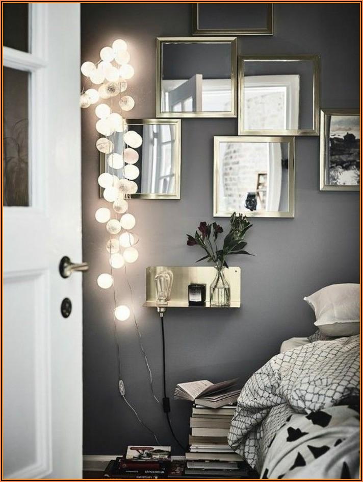 Wand Dekorieren Schlafzimmer