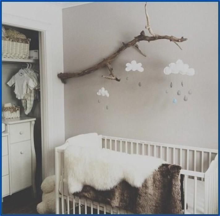 Wanddeko Babyzimmer Basteln