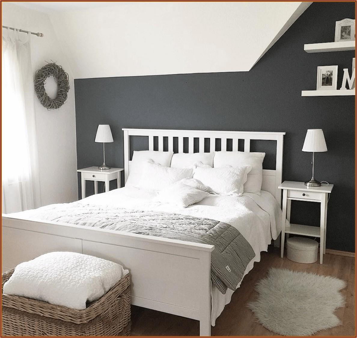 Wandgestaltung Schlafzimmer Deko