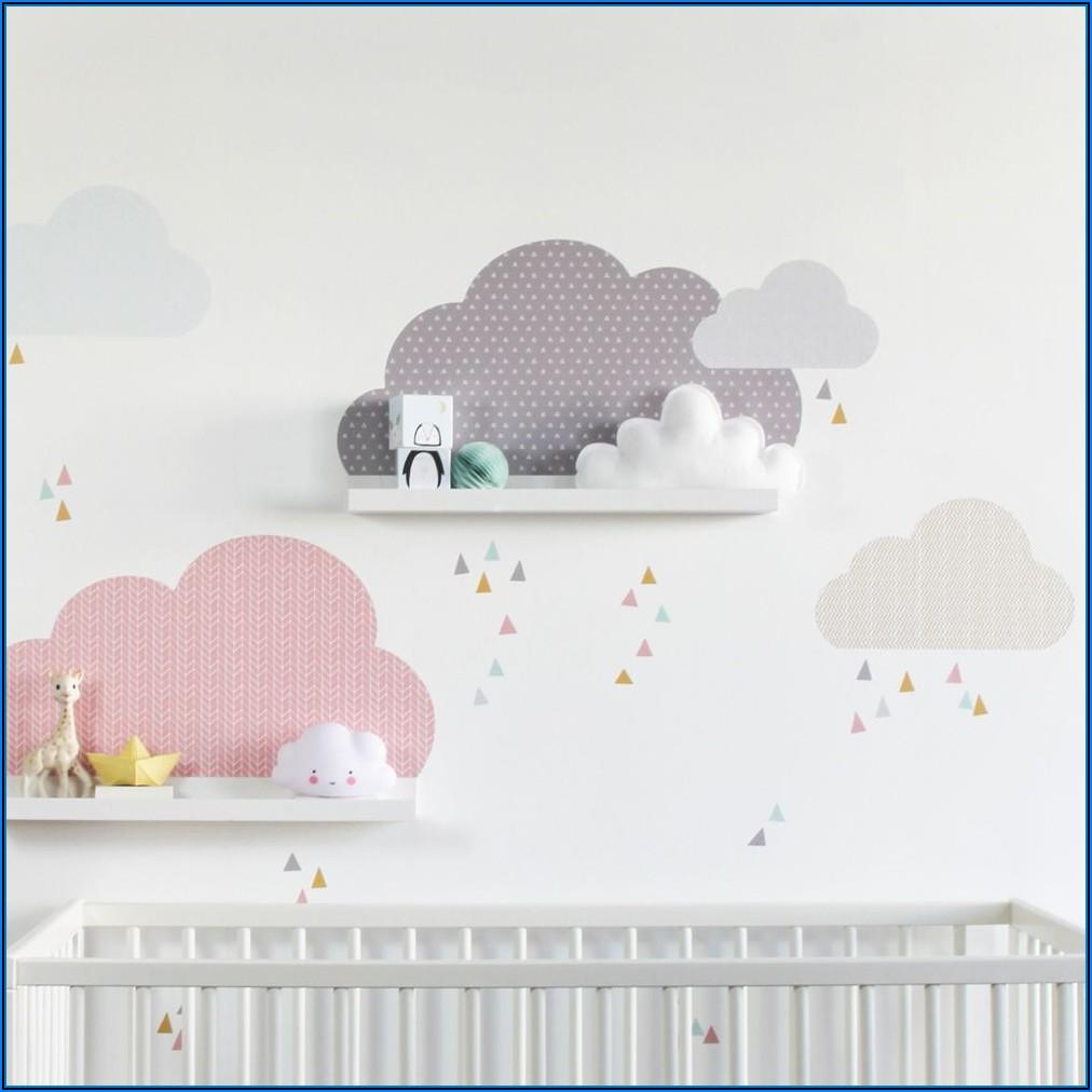 Wandtattoo Kinderzimmer Wolken