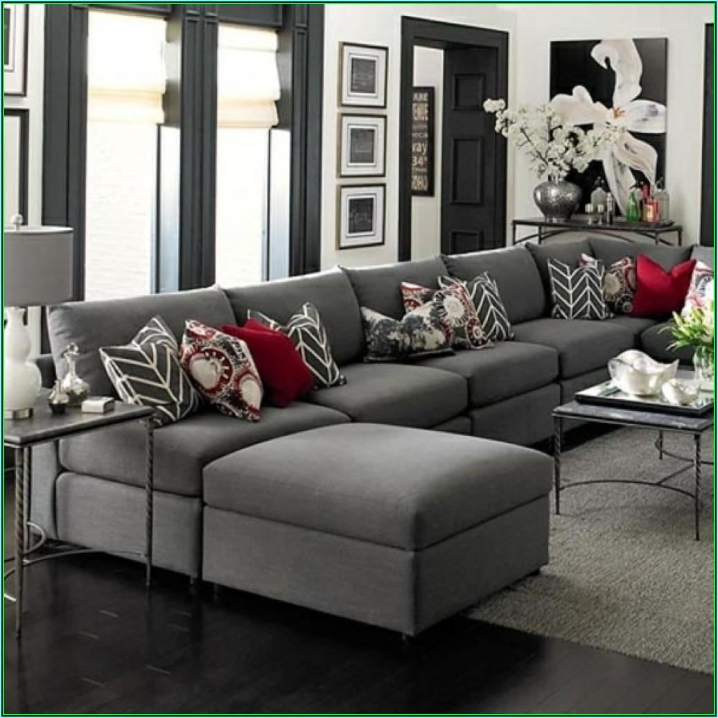 Wohnzimmer Deko über Couch