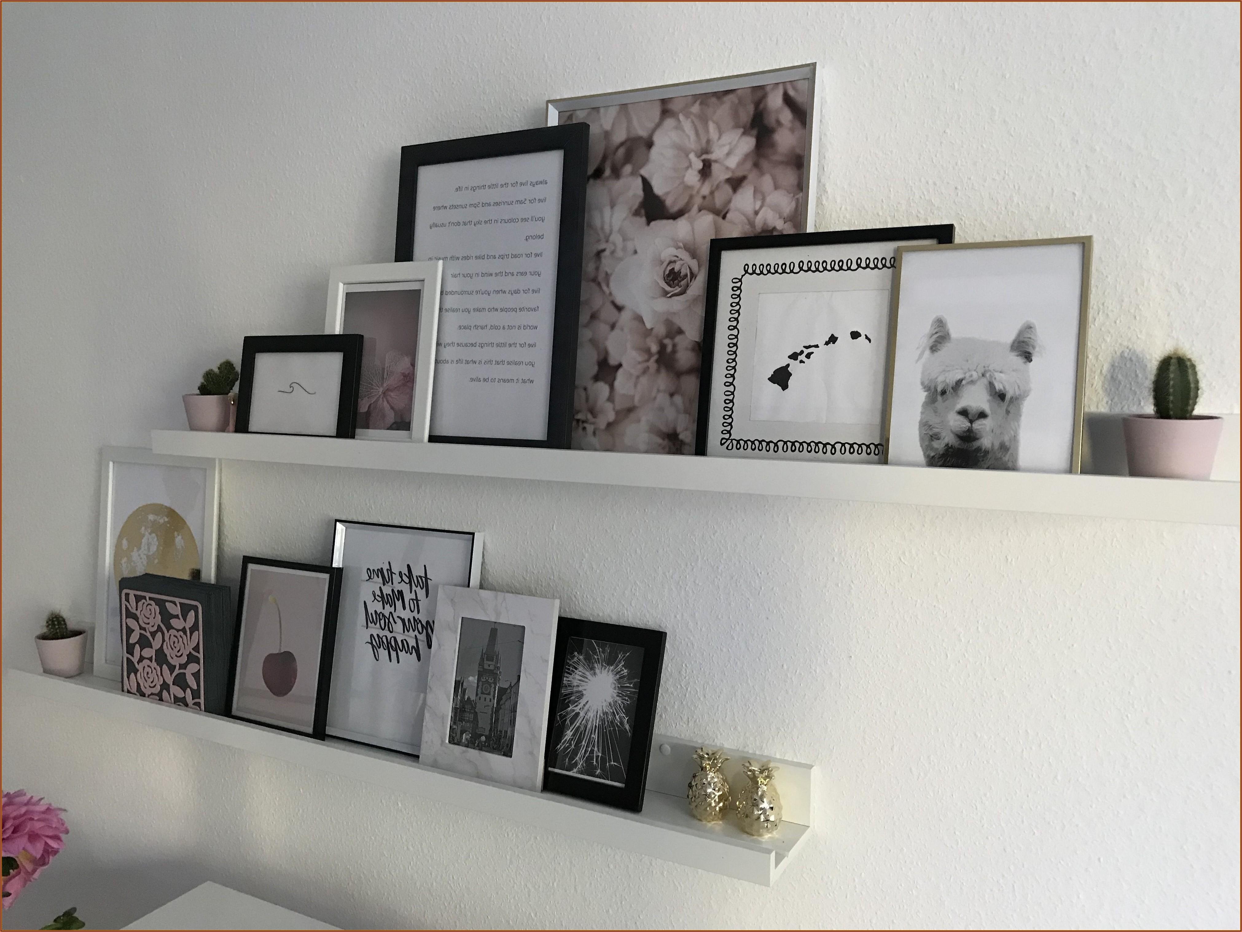 Wohnzimmer Deko Bilderleiste