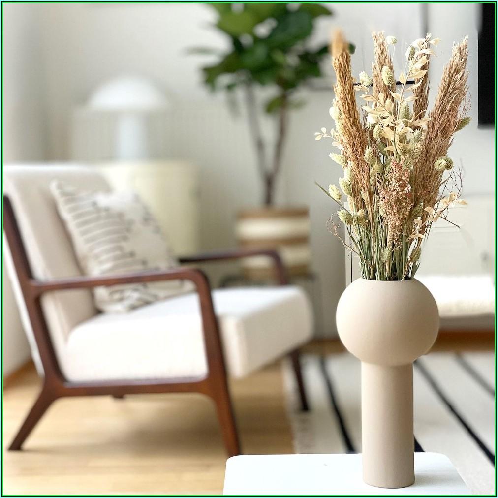Wohnzimmer Deko Blumen