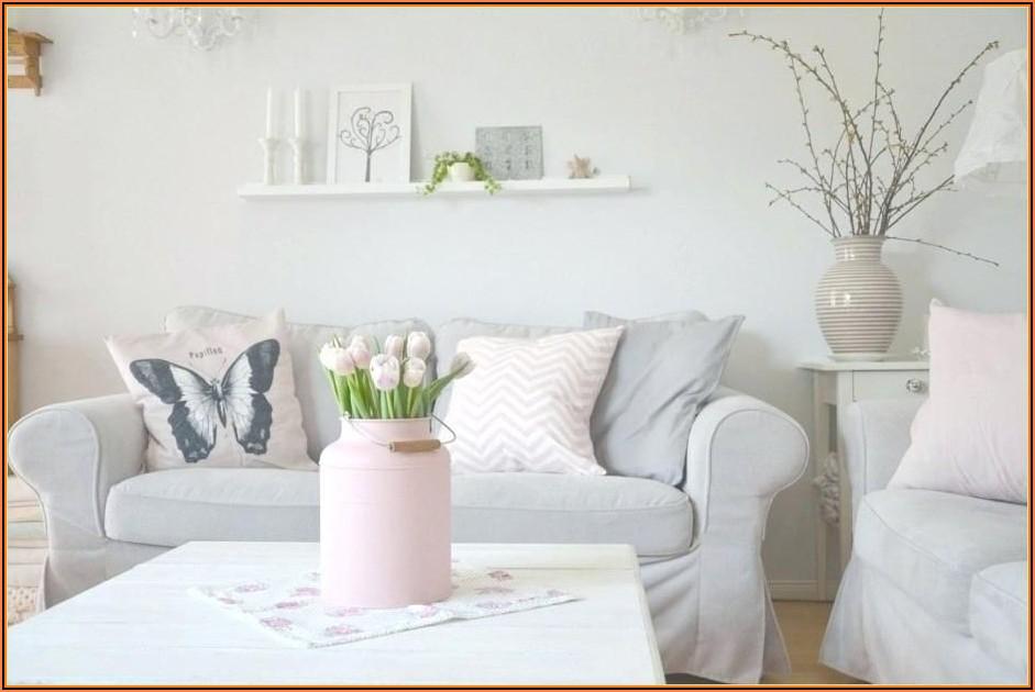 Wohnzimmer Deko Grau Rosa