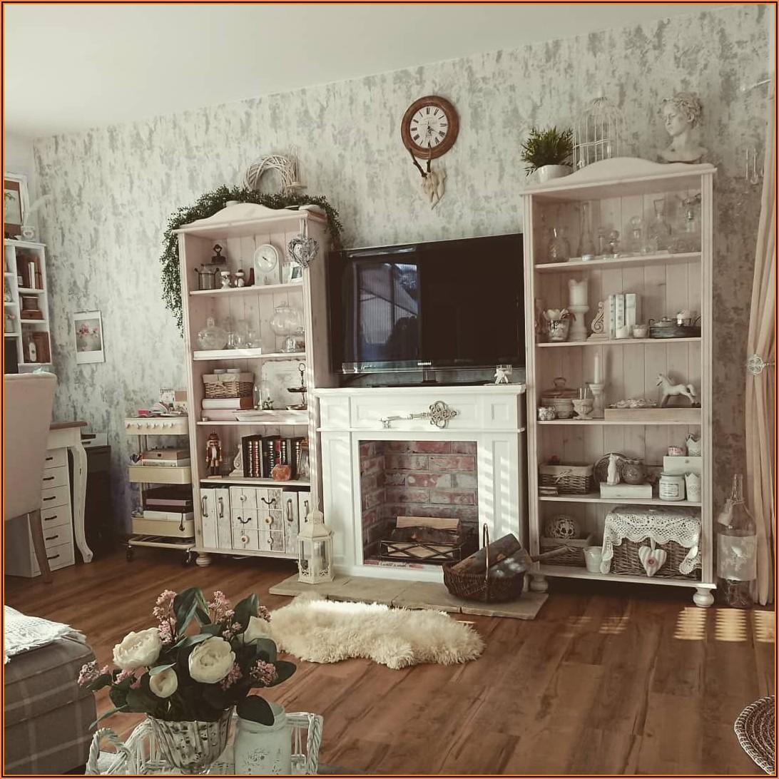 Wohnzimmer Deko Landhaus