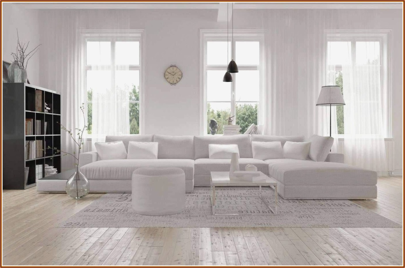 Wohnzimmer Deko Skandinavisch