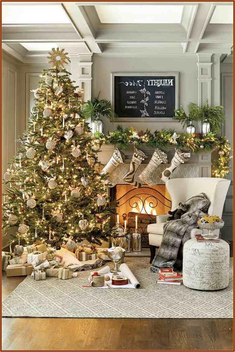 Wohnzimmer Deko Weihnachten