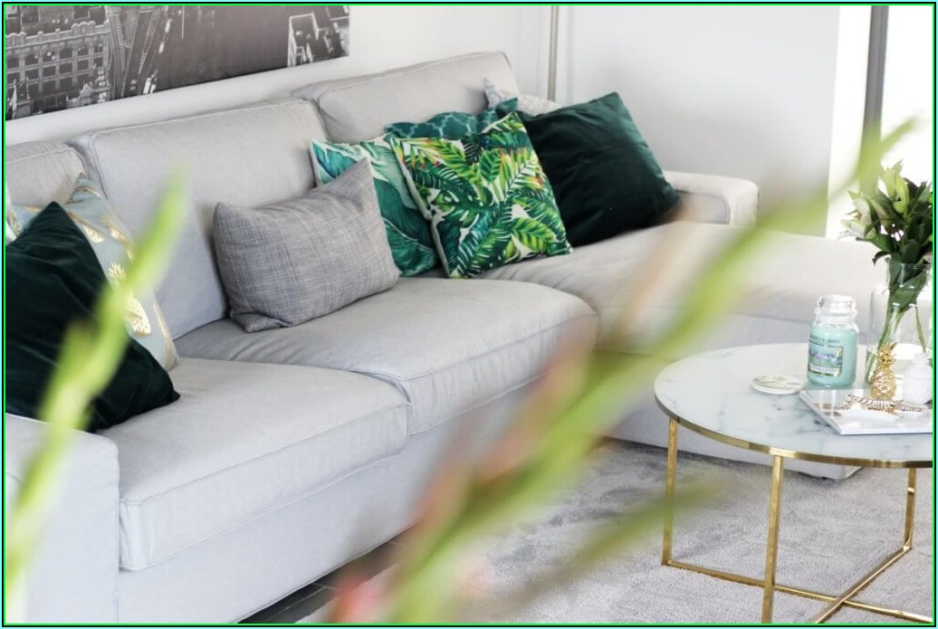 Wohnzimmer Dekoration Grün