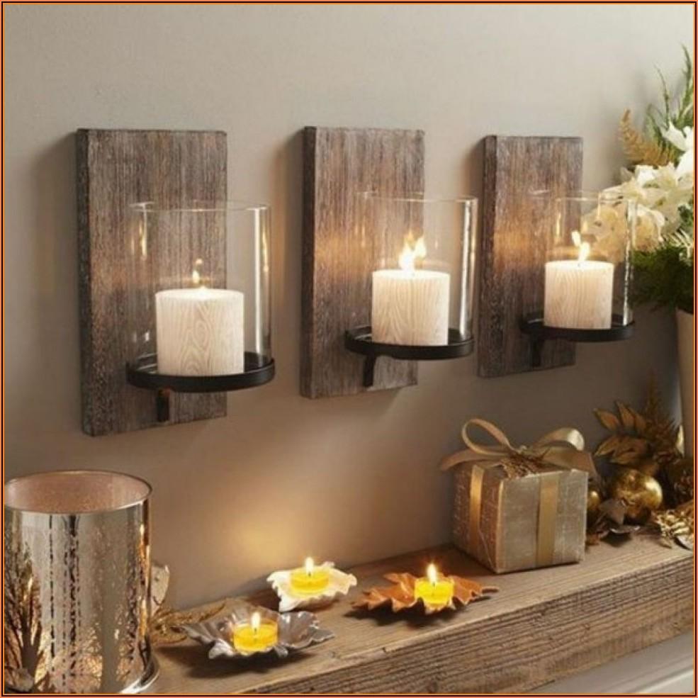 Wohnzimmer Dekoration Holz