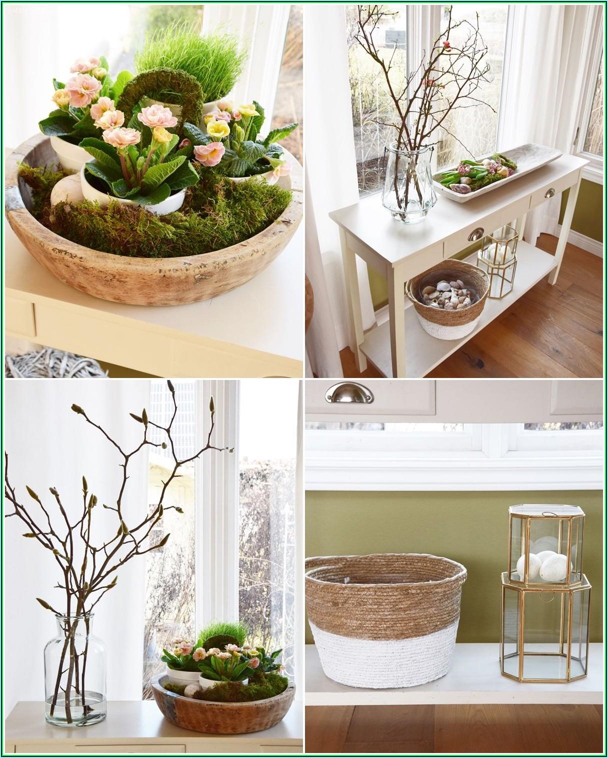 Wohnzimmer Dekorieren Frühling