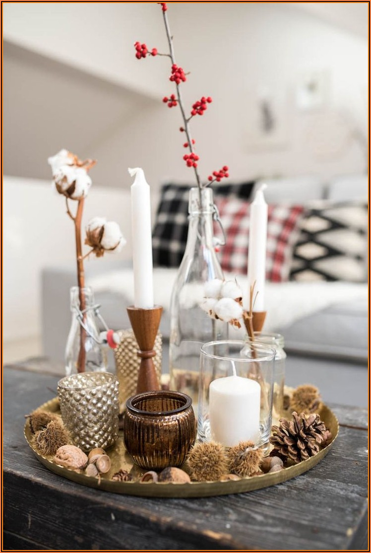 Wohnzimmer Dekorieren Winter