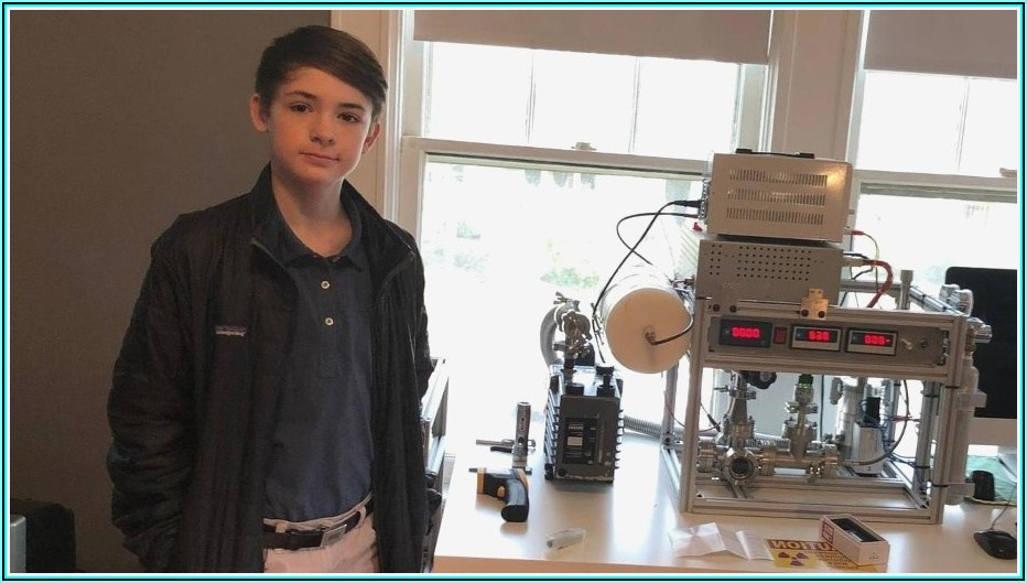 12 Jähriger Vollbringt Kernfusion Im Kinderzimmer