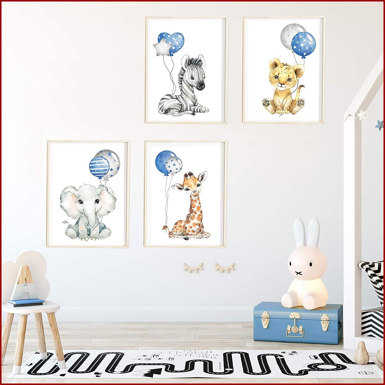 Bilder Babyzimmer Blau