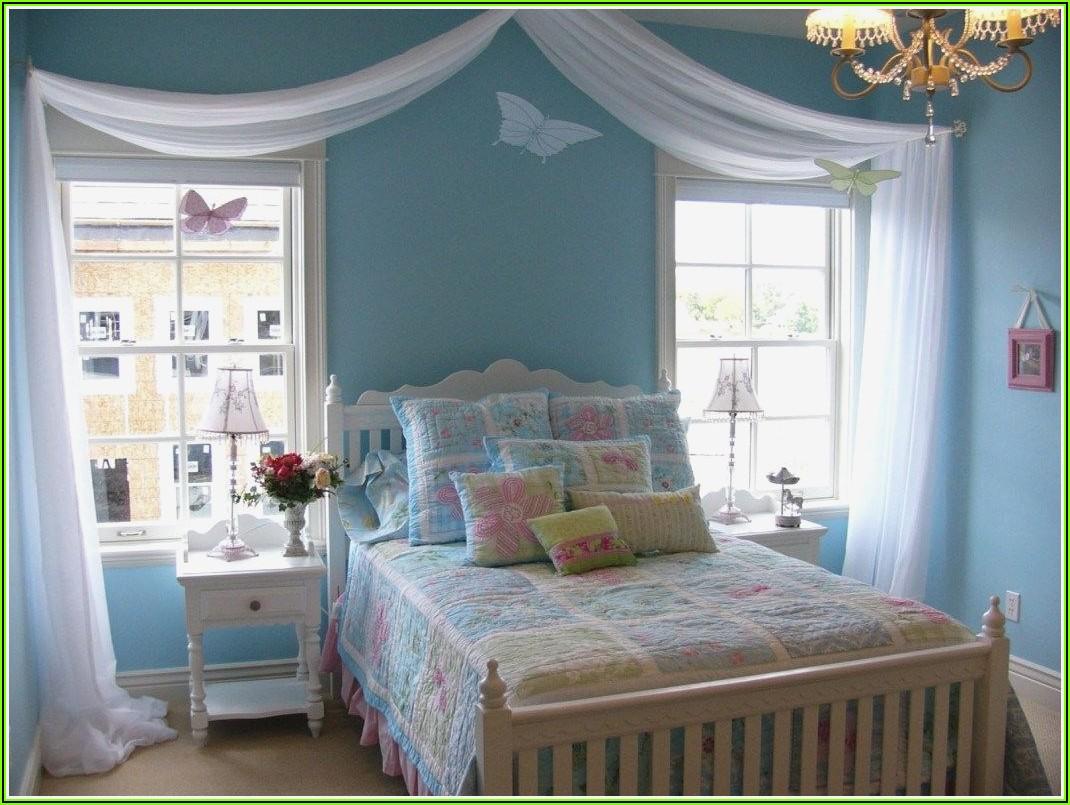 Deko Hellblau Schlafzimmer