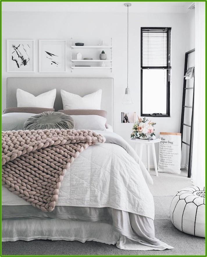 Deko Ideen Schlafzimmer Weiß