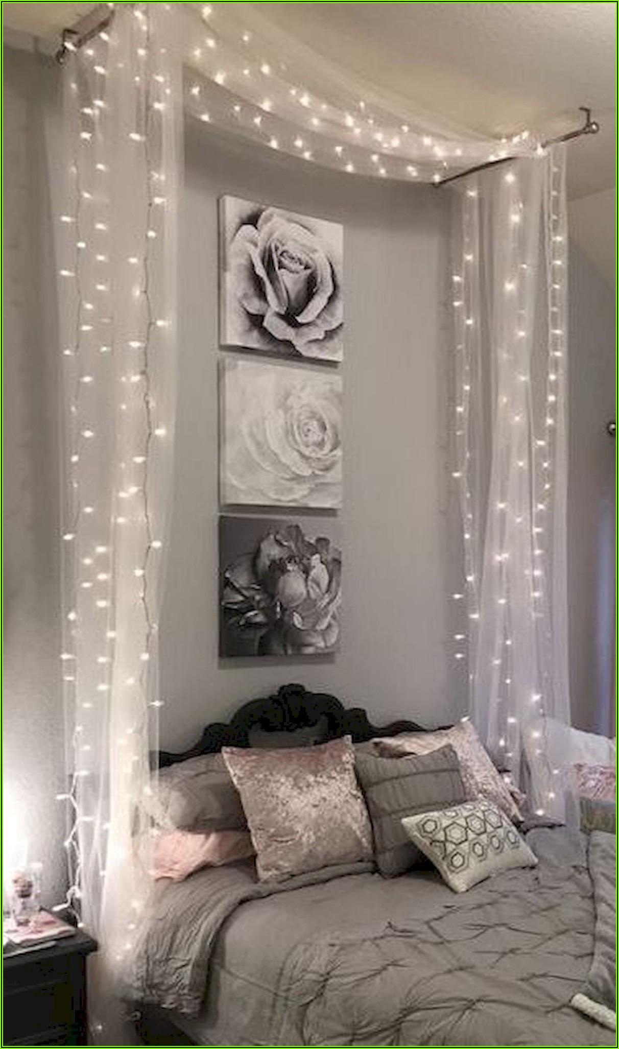 Deko Lichterkette Schlafzimmer