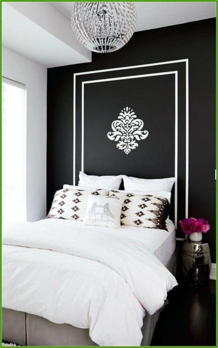 Deko Schlafzimmer Schwarz Weiß