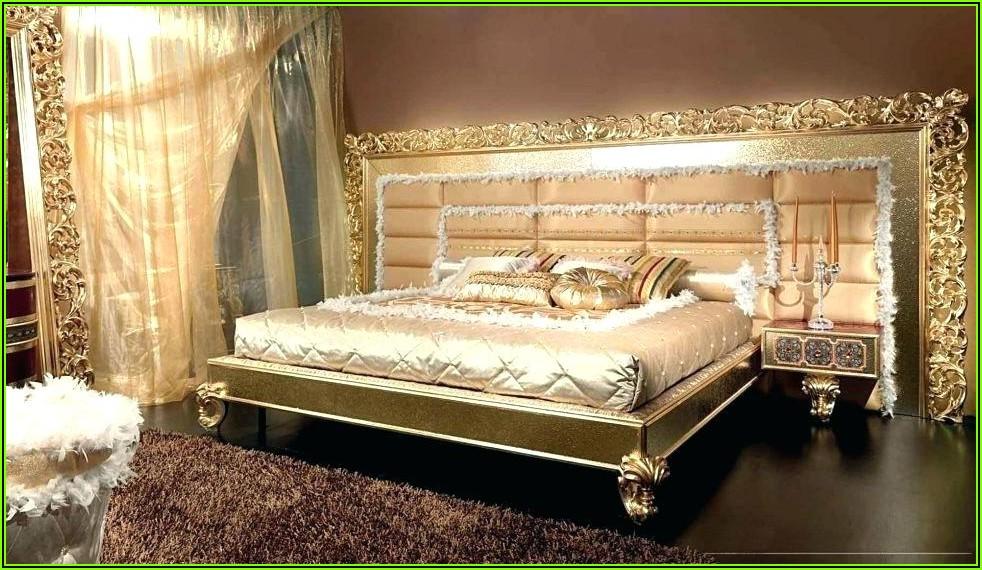 Dekoration Gold Schlafzimmer