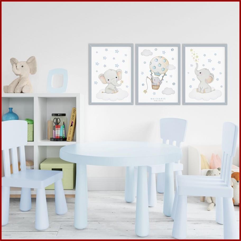 Elefanten Bild Kinderzimmer
