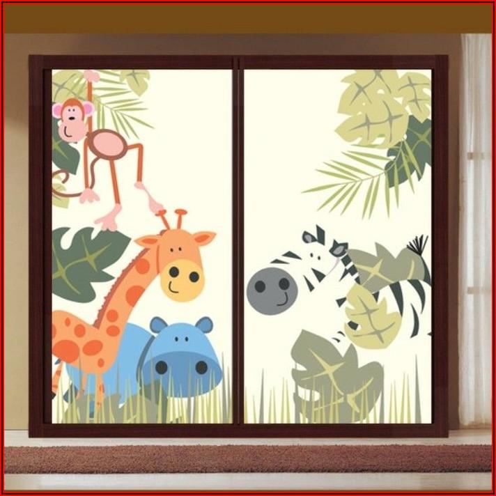 Fensterbild Babyzimmer Basteln