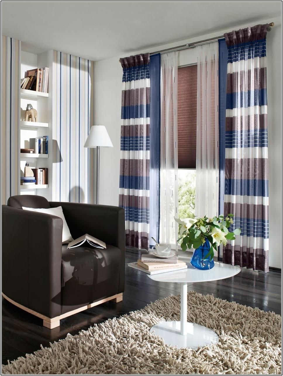 Gardinen Dekorationsvorschläge Wohnzimmer Erker