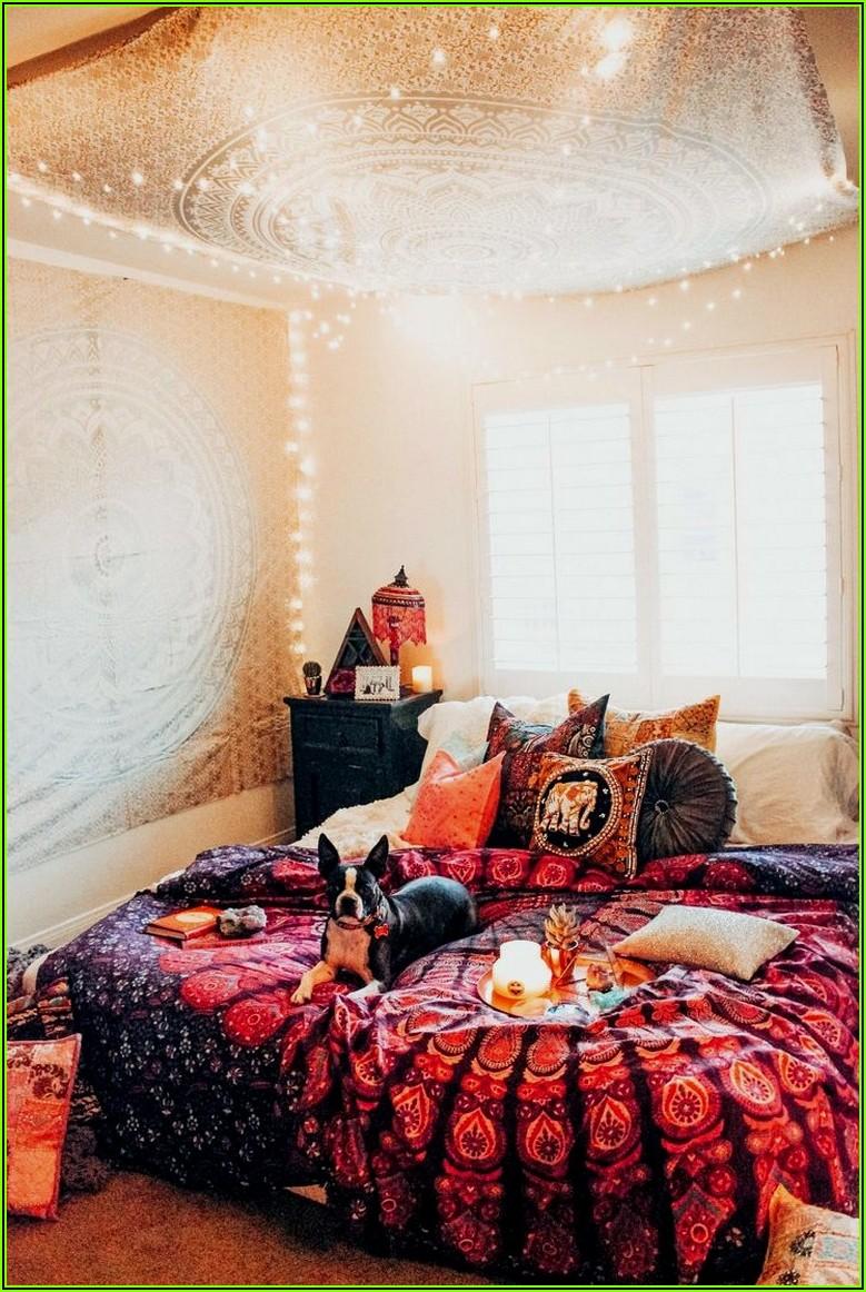 Hippie Deko Schlafzimmer