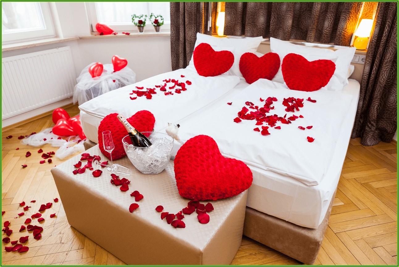 Hochzeit Schlafzimmer Dekorieren
