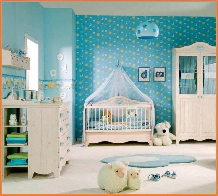 Jungen Babyzimmer Tapete