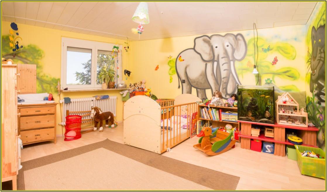 Kinderzimmer über 2 Etagen