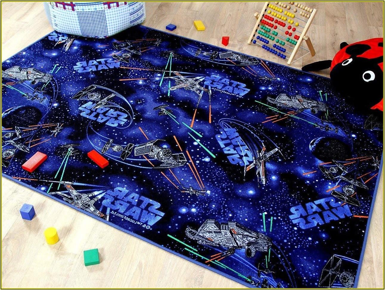 Kinderzimmer Teppich Star Wars