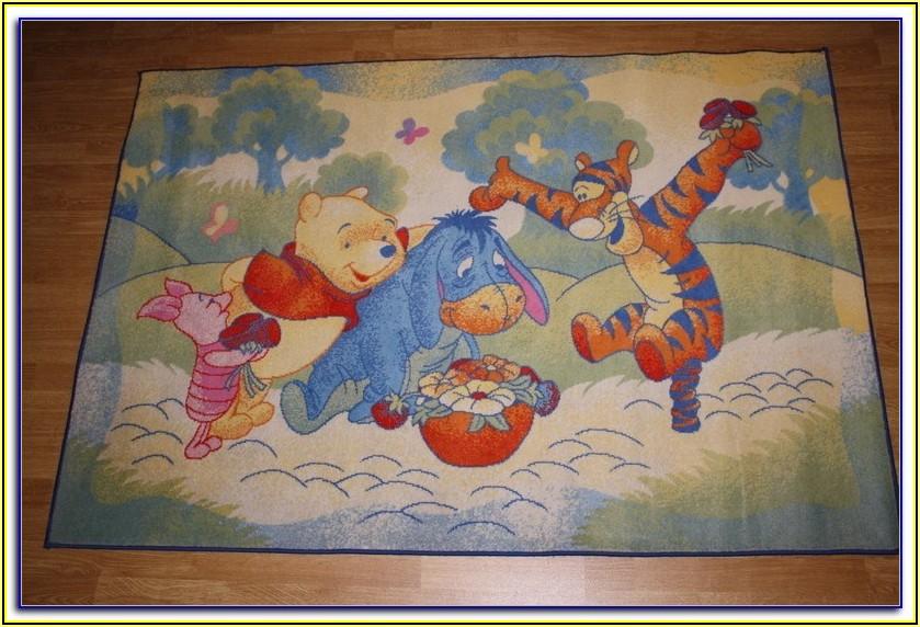 Kinderzimmer Teppich Winnie Pooh
