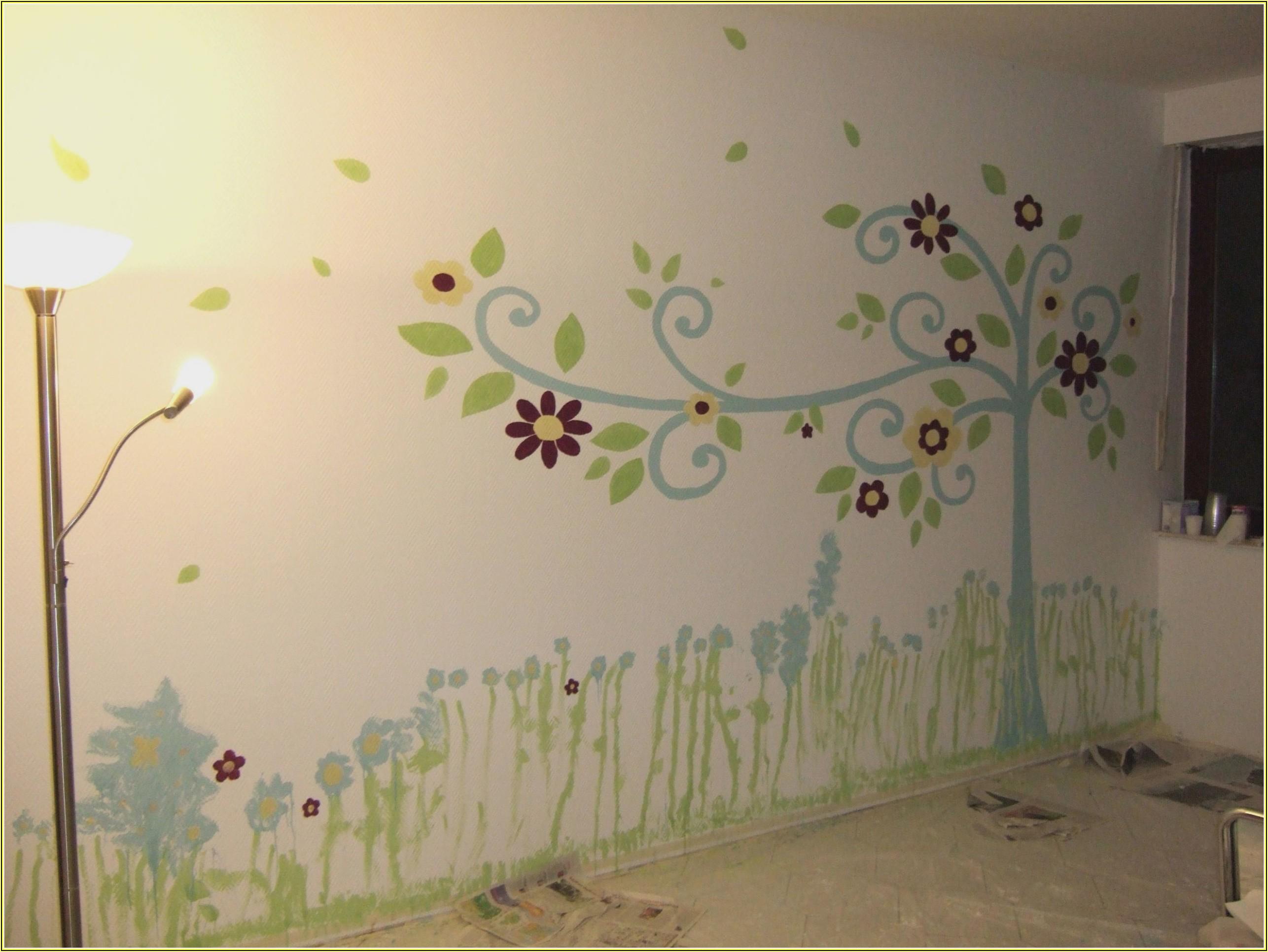 Kinderzimmer Wandbilder Selber Malen