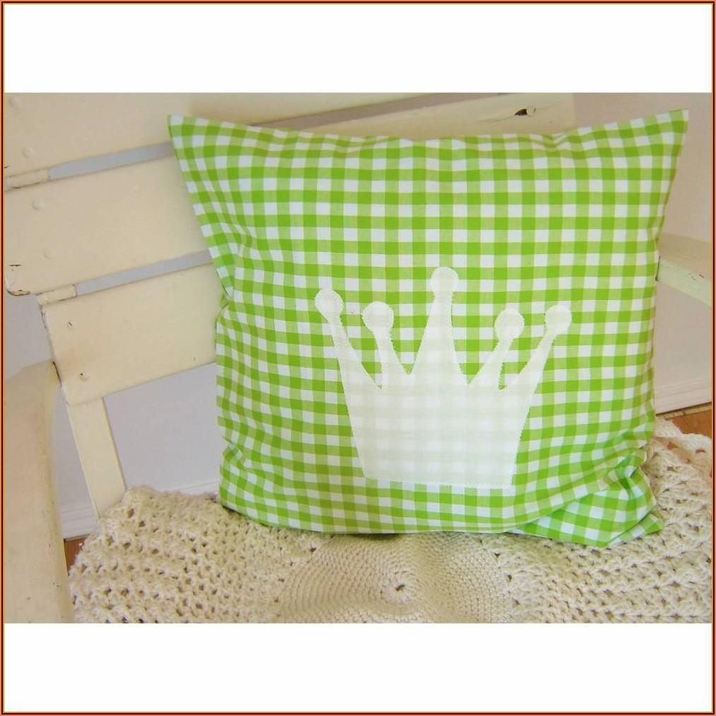 Kissen Kinderzimmer Grün