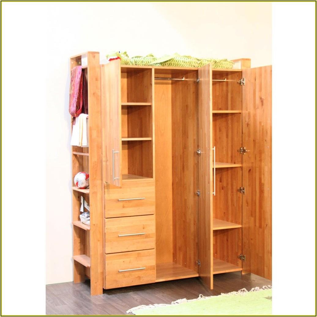 Kleiderschrank Kinderzimmer Buche Massiv