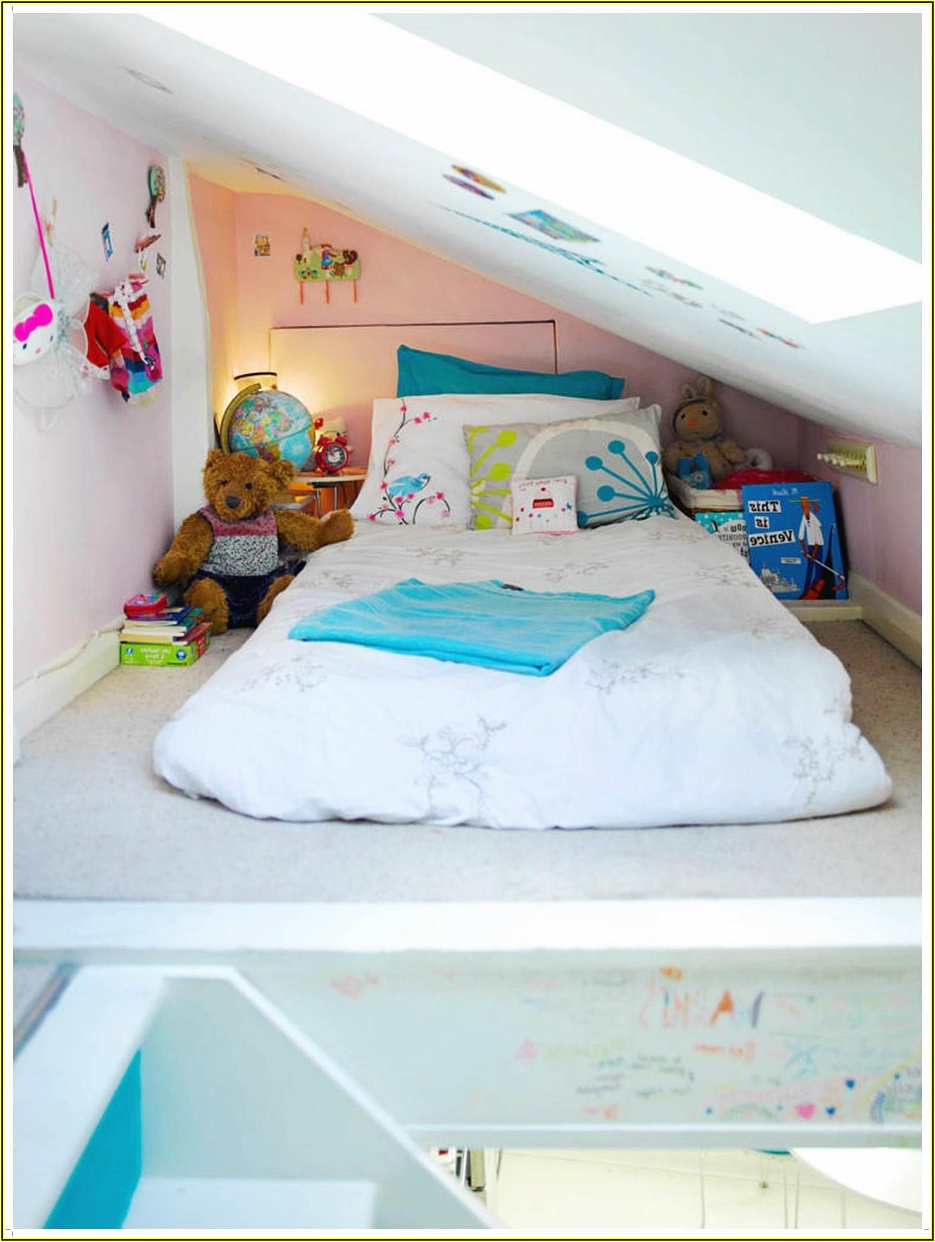 Kleine Kinderzimmer Mit Schräge Einrichten