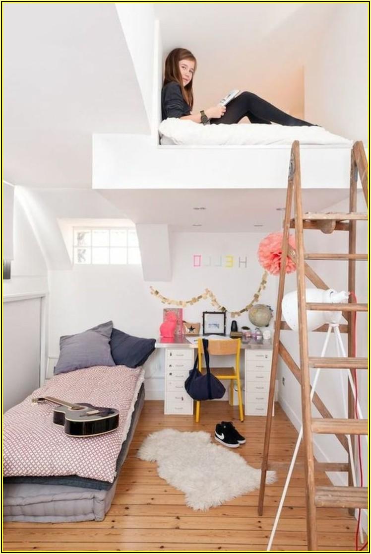 Kleines Jugendzimmer Einrichten Mädchen