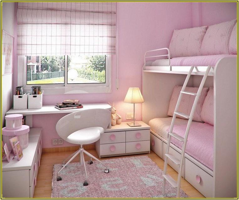 Kleines Kinderzimmer Mädchen Einrichten